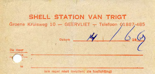 GE_TRIGT_001 Geervliet, Shell Station van Trigt - Van Trigt, Shell Station, (1969)