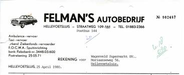 HE_FELMAN_003 Hellevoetsluis, Felman - Felman's autobedrijf. Ambulance-vervoer, Taxi-vervoer, Erkend ...