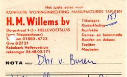 HE_WILLEMS_002 Hellevoetsluis, Willems - H.M. Willems bv. Het juiste adres voor konfektie, woninginrichting, ...