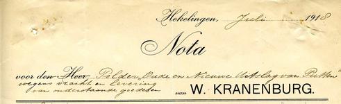 HK_KRANENBURG_001 Hekelingen, Kranenburg - W. Kranenburg, (1918)