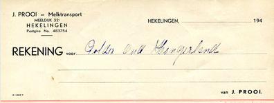 HK_PROOI_001 Hekelingen, Prooi - J. Prooi - Melktransport, (1944)