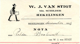 HK_STIGT_004 Hekelingen, Stigt - W.J. van Stigt, Mr. Schilder, (1935)