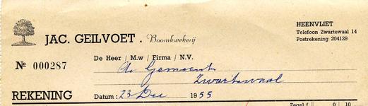 HV_GEILVOET_003 Heenvliet, Geilvoet - Jac. Geilvoet, Boomkwekerij, (1955)