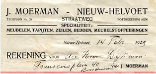 NH_MOERMAN_003 Nieuw-Helvoet, Moerman - J. Moerman, Specialiteit: meubelen, tapijten, zeilen, bedden, ...