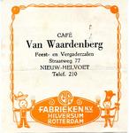 NH_WAARDENBERG_001 Nieuw-Helvoet, Van Waardenberg - Café Van Waardenberg, feest- en vergaderzalen