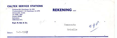 BR_BAK_001 Brielle, Caltex service stations - Caltex service stations, expl. M. Bak & Zn, levering van: benzine, ...
