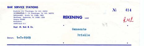 BR_BAK_002 Brielle, Bak service stations - Bak service stations expl. M. Bak & Zn. levering van: benzine, dieselolie, ...