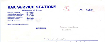BR_BAK_003 Brielle, Bak service stations - Bak service stations, expl. M. Bak & Zonen, levering van: benzine, l.p.g., ...