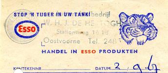 BR_HERTOGH_001 Brielle, W.H.J. de Hertogh - W.H.J. de Hertogh, handel in ESSO produkten, (1967)