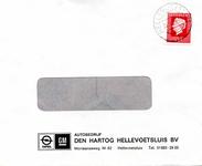 HE_HARTOG_001 Hellevoetsluis, Den Hartog - Autobedrijf Den Hartog Hellevoetsluis B.V. (ENVELOPPE), (1978)