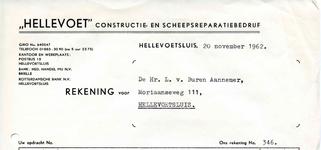 HE_HELLEVOET_002 Hellevoetsluis, Hellevoet - Hellevoet constructie- en scheepsreparatiebedrijf, (1962)