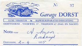 OV_DORST_001 Oostvoorne, Dorst - Garage Dorst, Luxe verhuur, rijwielreparatie-inrichting, (1955)
