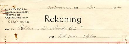 OV_TOLEDO_007 Oostvoorne, Van Toledo - Fa. J. van Toledo en Zoon, Timmerman-Aannemers, (1940)