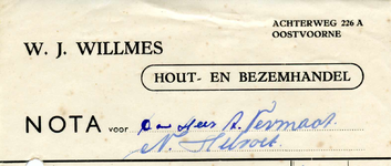 OV_WILLMES_002 Oostvoorne, Willmes - W.J. Willmes. Hout- en bezemhandel