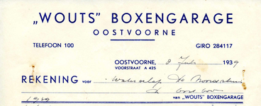 OV_WOUTS_002 Oostvoorne, Wouts - Wouts Boxengarage, (1939)