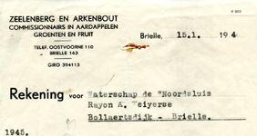 OV_ZEELENBERG_001 Oostvoorne, Zeelenberg en Arkenbout - Zeelenberg en Arkenbout, commissionnairs in aardappelen, ...