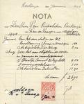 RO_KNAAP_005 Rockanje, Van der Knaap - K. van der Knaap, Metselaar - Aannemer, (1946)