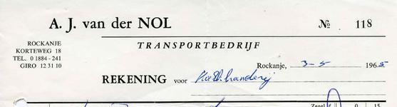 RO_NOL_004 Rockanje, Van der Nol - A.J. van der Nol, Transportbedrijf, (1965)