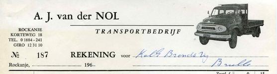 RO_NOL_005 Rockanje, Van der Nol - A.J. van der Nol, Transportbedrijf, (1966)