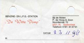 SP_WITTE POMP_001 Spijkenisse, De Witte Pomp - Benzine- en L.P.G.-station, (1998)