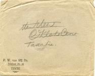TI_RIJ_001 Tinte, Van Rij - P.W. van Rij Dz. (ENVELOPPE)