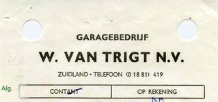 ZL_TRIGT_004 Zuidland, Van Trigt - Garagebedrijf W. van Trigt N.V., (1968)
