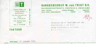 ZL_TRIGT_006 Zuidland, Van Trigt - Garagebedrijf W. van Trigt N.V. Shell-Station, Shell-Quick-Servicebedrijf, (1973)
