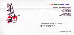 ZL_VERFHOEK_014 Zuidland, De Verfhoek - De Verfhoek, Schilder, Glas & Behangwerk, (1998)