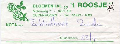 OH_ROOSJE_001 Oudenhoorn, 't Roosje - Bloemenhal 't Roosje , (z.d)