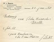 OV_BUUREN_002 Oostvoorne, Van Buuren - H. van Buuren, schoenhandel, (1968)