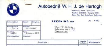 OV_HERTOGH_002 Oostvoorne, De Hertogh - Autobedrijf W.H.J. de Hertogh. BMW dealer, (1973)