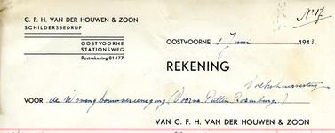 OV_HOUWEN_002 Oostvoorne, Van der Houwen - C.F.H. van der Houwen & Zoon, Schildersbedrijf, (1943)