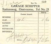 OV_SCHIPPER_002 Oostvoorne, Schipper - Garage Schipper, (1936)
