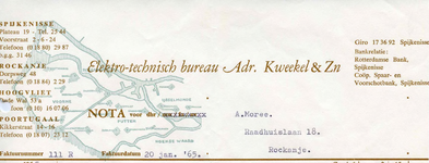 RO_KWEEKEL_001 Rockanje, Kweekel - Elektro-technisch bureau Adr. Kweekel & Zoon, (1965)