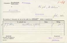 RZ_BOERENLEENBANK_001 Rozenburg, Boerenleenbank - Coöperatieve Boerenleenbank/Raiffeisenbank, (1961)