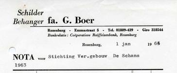 RZ_BOER_002 Rozenburg, Boer - fa. G. Boer, Schilder Behanger, (1964)