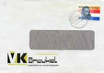 RZ_BREUKEL_001 Rozenburg, Breukel - Interieurverzorging Breukel (Vormkeur meubelen) (ENVELOPPE), (± 1984)
