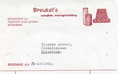 RZ_BREUKEL_002 Rozenburg, Breukel - Breukel's complete woninginrichting, (1965)