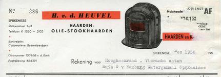 SP_HEUVEL_003 Spijkenisse, v.d. Heuvel - H. v.d. Heuvel, haarden- olie-stookhaarden, huishoudelijke artikelen, ...