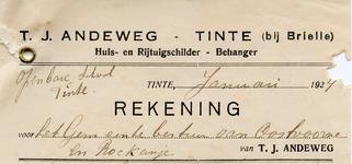 TI_ANDEWEG_003 Tinte, Andeweg - T.J. Andeweg, Huis- en rijtuigschilder, behanger, (1924)