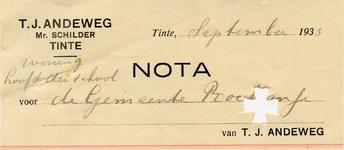 TI_ANDEWEG_005 Tinte, Andeweg - T.J. Andeweg, Mr. Schilder, (1933)