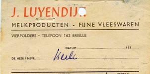 VP_LUYENDIJK_001 Vierpolders, Luyendijk - J. Luyendijk, Melkproducten - Fijne vleeswaren, (z.d)