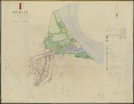 TA_084_057 Brielle, Kaart, deel uitmakende van het Uitbreidingsplan Zuid- Meeuwenoord, 1953.
