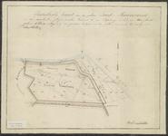 TA_084_092 Kadastrale kaart van den polder Zuid-Meeuwenoord, 1858.