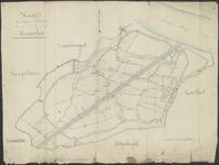 TA_087_002 Kaart der Wegen en Voetpaden binnen de Gemeente Heenvliet,