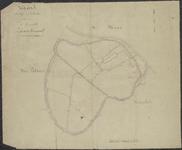 TA_106_007 Kaart der Wegen en Voetpaden binnen de Gemeente Zwartewaal,