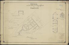 TA_106_009 Ontwerp voor het maken van een begraafplaats te Zwartewaal, 1920.