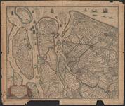 TA_ALG_004 Novissima Delflandiae, Schielandiae et circumiacentium onsularum ut Voorne, Overflackeae, Goereae,Iselmonde, 1680.