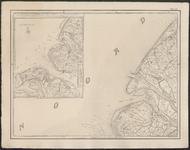 TA_ALG_009D Zuid Holland, met westelijk Voorne en Brielle. De kaart is voorzien van een inleg waarop de Hoek van ...