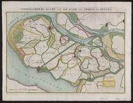 TA_ALG_010 Topographische Kaart van het Land van Voorne en Putten, ca. 1850.